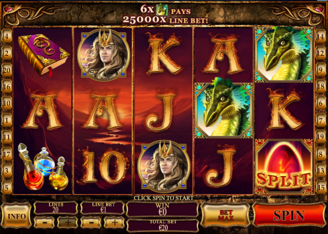 Dragon Kingdom Animated Pokie