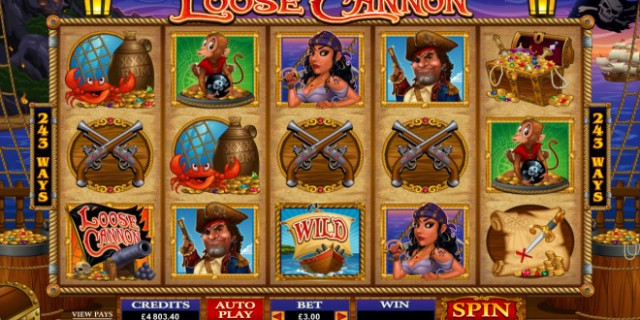 Loose Cannon Online Pokie