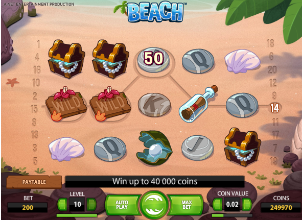 Beach Casino Online Pokie