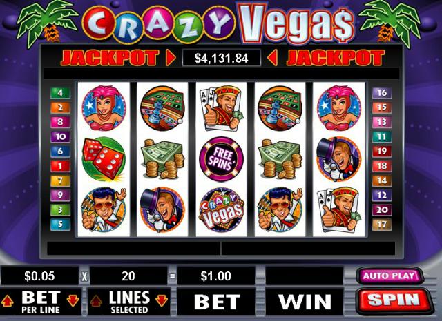 Crazy Vegas Online Pokie
