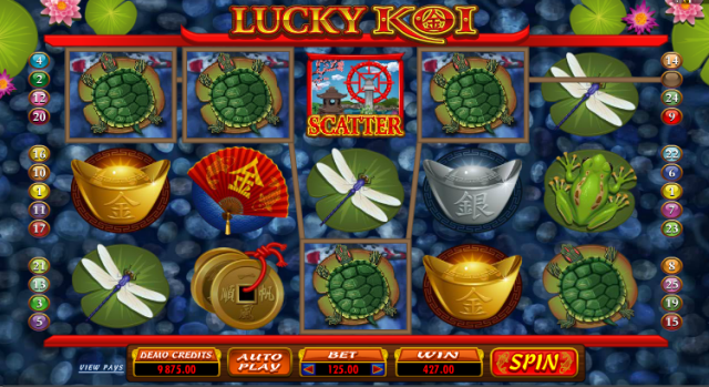 Lucky Koi Action Pokie