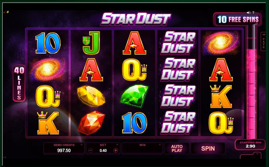 Stardust-Pokie