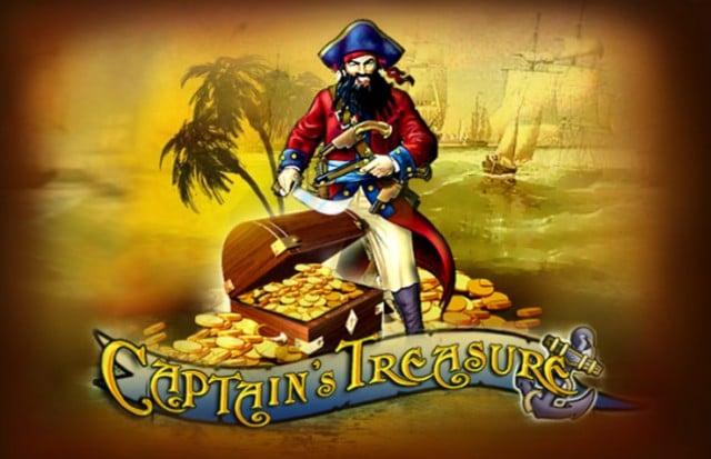 Captain's Treasure Pokie By Playtech
