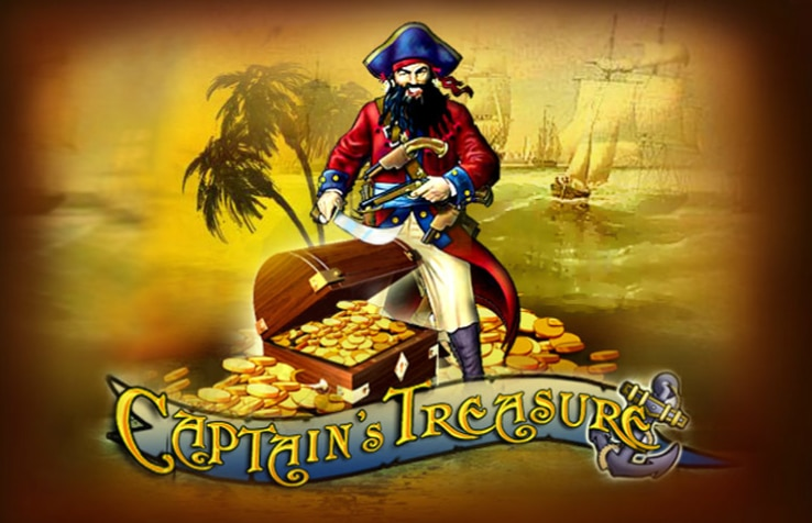 Captain's Treasure Pokie By Playtech