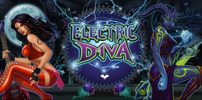 Electric Diva Pokie by Microgaming