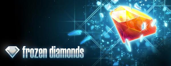 Frozen Diamonds Pokie by Rabcat