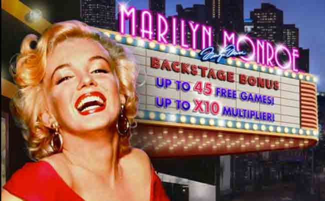 Marilyn Monroe Pokie by Playtech