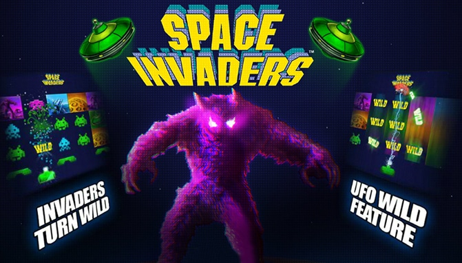 Space Invaders Pokie by Playtech